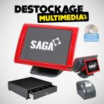 Caisse Enregistreuse Tactile Saga SGS-150-RT sans logiciel