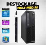 PC LENOVO M72E PENTIUM G850 4 GB 250 GO DVDRW WINDOWS 7 PRO