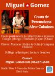 Cours de percussions afro-cubaines / miguel gomez