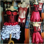 Robe de French Cancan - costume cabaret 3