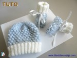 Tuto trousseau azur-ecru astrakan, tricot bb, explications 2