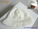 Tuto chapeau tricoté laine bb, explications détaillées