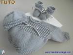 Tuto trousseau gris, tricot bebe, explications pdf