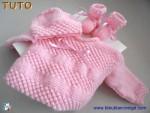 Tuto trousseau ROSE, tricot bebe, explications pdf