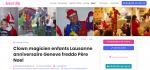 CLOWN MAGICIEN ENFANTS ANNIVERSAIRE GENEVE FREDDO PERE NOEL