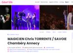 MAGICIEN Chris TORRENTE / SAVOIE Chambéry Annecy