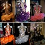 Costume de scène - robe de French cancan Paris 4