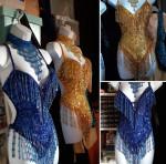 Costume de scène - robe de French cancan Paris 2