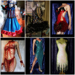 Costume de scène - String soutien gorge paillettes Cabaret 4