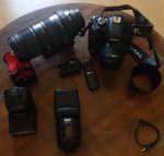 Canon600D et studio photo