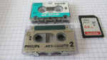 Numérisation et transfert de Mini-cassette Philips 3