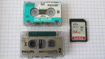Numérisation et transfert de Mini-cassette Philips 1