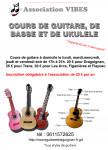 Professeur de guitare sur Draguignan, Trans, Flayosc, Figanières