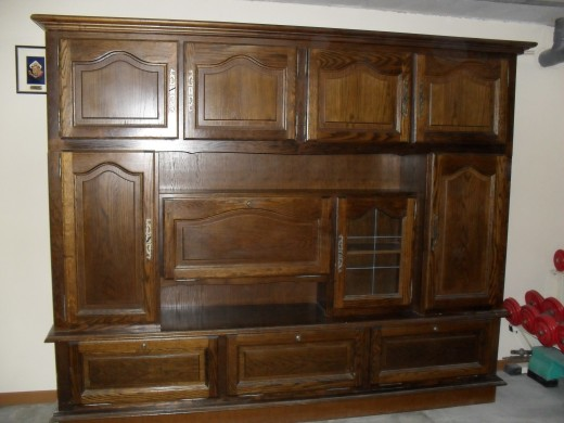 vends living meuble de salle manger couleur ch ne conflans sur lanterne. Black Bedroom Furniture Sets. Home Design Ideas