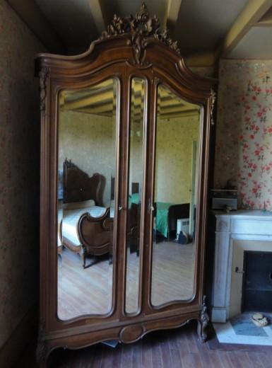 A vendre meubles style ann es 30 40 en bois massif 1 coiffeuse eymet - Meuble des annees 30 ...