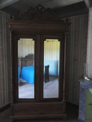 a vendre meubles style ann es 30 40 en bois massif 1 coiffeuse eymet. Black Bedroom Furniture Sets. Home Design Ideas