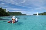Location Voilier sur le lagon de Huahine 3