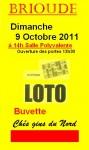 LOTO JACKPOT BRIOUDE LE DIMANCHE 9 OCTOBRE 2011  SITE
