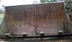 Godet avant de fourche de tracteur modèle TP renforçé avec