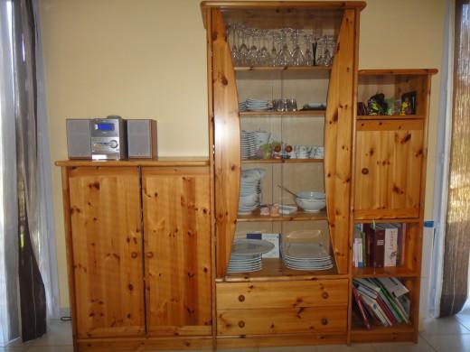 Vends ensemble de meuble en pin massif de chez coktail for Meuble en pin massif scandinave