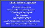 Taxi camion Tél 0626870429