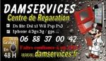 Damservices Votre centre de réparation Iphone , consoles de jeux