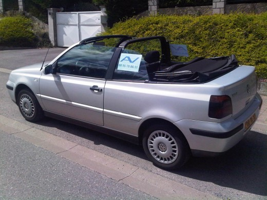 golf 4 cabriolet vend golf cabriolet volkswagen 1 6 litres boulogne sur mer. Black Bedroom Furniture Sets. Home Design Ideas