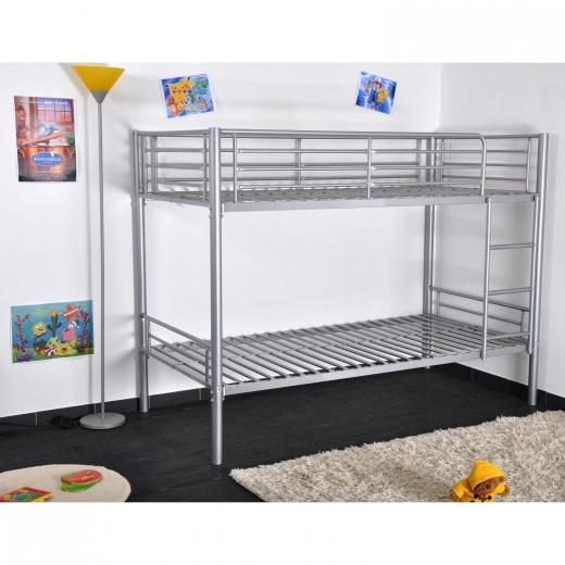 lit superpose metallique maison design. Black Bedroom Furniture Sets. Home Design Ideas