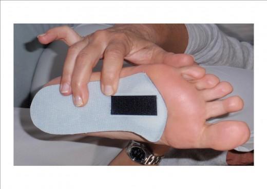 Semelles pour douleurs de l 39 avant pied la chapelle sur loire for Douleur interieur pied