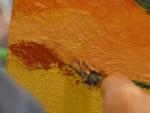 STAGE D'ETE: la peinture au couteau. Du 09 au 13 Juillet 2012