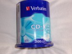 100 CD-R VERBATIM EXTRA PROTECTION NEUF