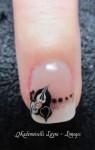 Pro confirmée Ongles gel Uv manucure French nail art  limoges