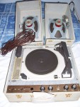 TOURNE DISQUES DUAL STEREO A LAMPES 45/33/78 TRS