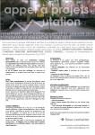 Appel à projets - Projet Mutation - Paris 11e arr.