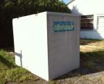 Citerne béton pour l'eau de pluie (5800L neuve)