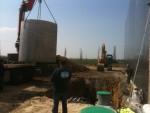 Citerne béton pour l'eau de pluie (10000L neuve)