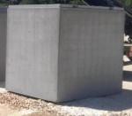 Citerne eau de pluie (béton, 3000L, neuve)