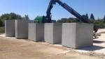 Cuve béton pour l'eau de pluie (10000L, sortie d'usine)