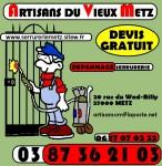 Rideaux Métallique/ Grille extensible/ Serrurerie Metz
