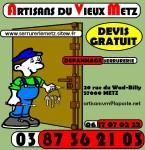 Serrurerie Metz, Métallerie Metz, Dépannage Metz 0387362103