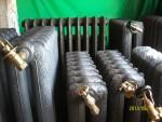 Radiateur fonte fleuri radiateur en fonte ancien  decoré