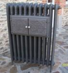 Radiateur fonte fleuri radiateur en fonte ancien  decoré 2