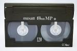 Je transfère vos cassettes vidéo 8 sur DVD !