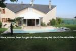 à vendre sans frais d'agence villa piscine vignoble !