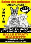 Salont animalier biarritz 23 et 24 novembre