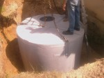 Stockage eau pluviale 10.000L