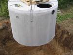 3000L conservation eau de pluie cuve béton