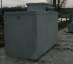 Réserve béton 3000L pour recueil eau naturelle