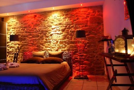 Chambre d 39 h te de luxe avec jacuzzi pour deux priv verg ze - Normandie chambre d hote ...