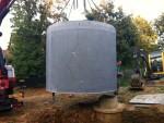 Cuve/citerne béton pour eau de pluie 10000L
